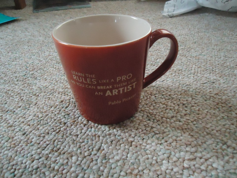 Photo of Picasso Mug - Learn the rules like a pro so you can break them like an artist.