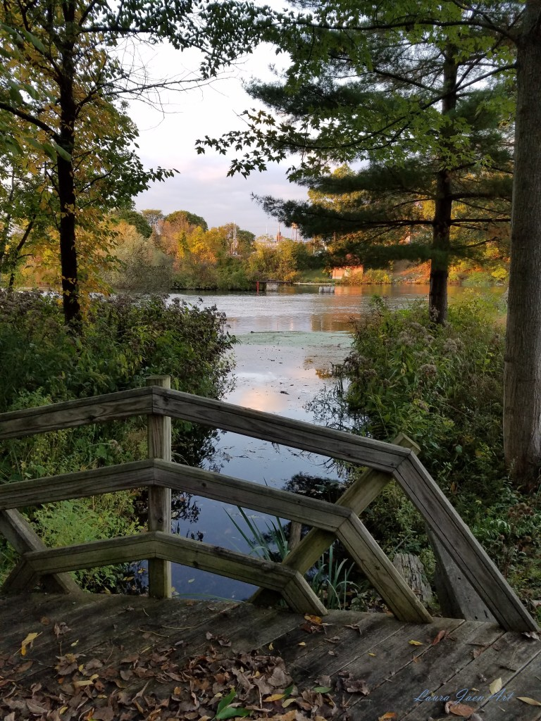 Photo of Cayuga Seneca Canal Ludovico Sculpture Trail Seneca Falls NY by Laura Jaen Smith