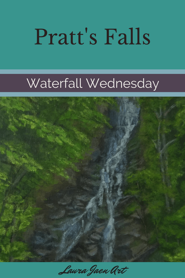 Pratt's Falls Waterfall Wednesday blog cover