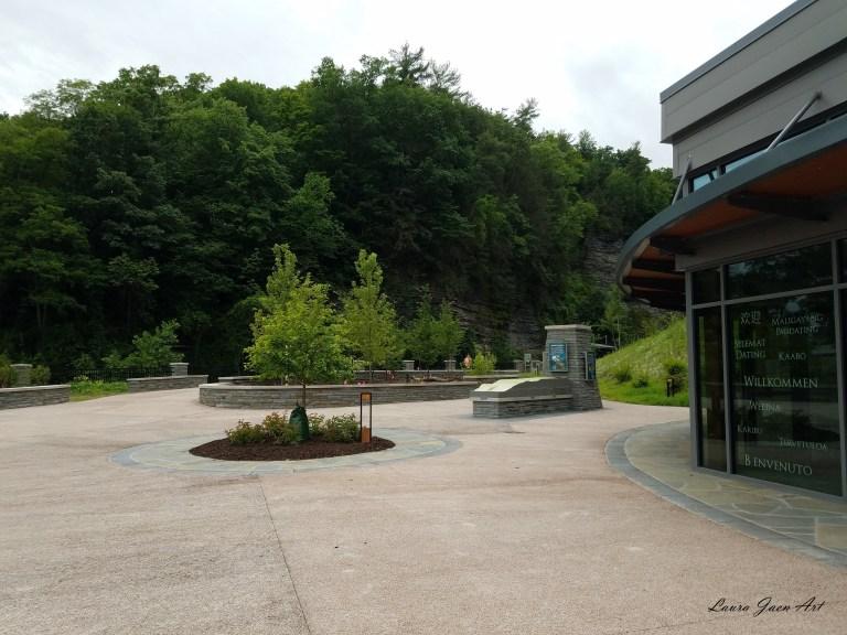 Photo of entrance Watkins Glen State Park NY by Laura Jaen Smith