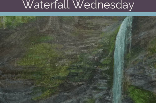 Bucktail Falls Waterfall Wednesday blog cover