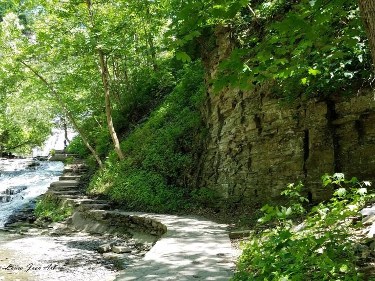 Photo of Cascadilla Gorge Trail Ithaca by Laura Jaen Smith