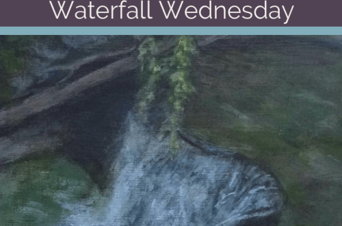 Twin Falls Lower Falls Waterfall Wednesday blog cover