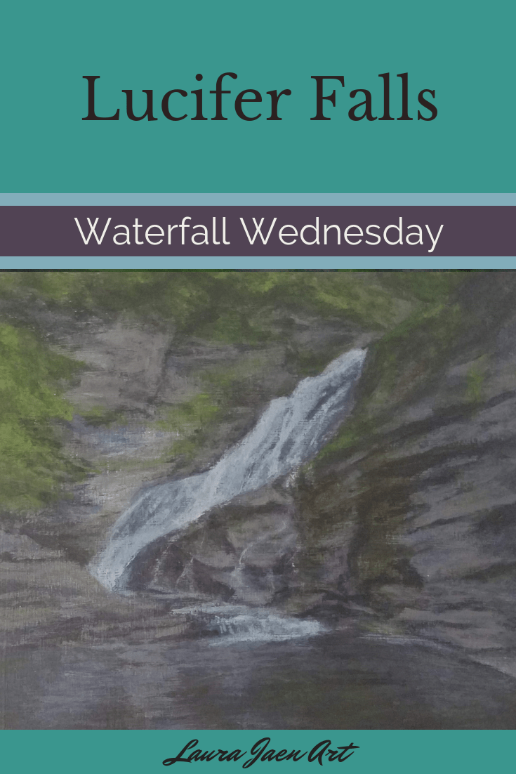 Lucifer Falls Waterfall Wednesday blog cover