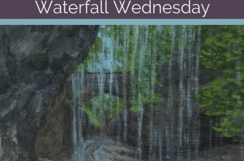 Rainbow Falls Waterfall Wednesday blog cover