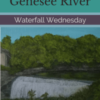Waterfall Wednesday: Genesee Lower Falls
