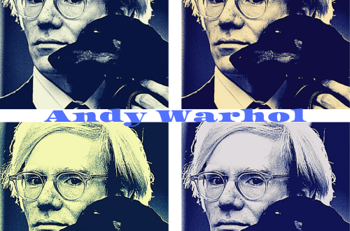 Andy Warhol blog cover