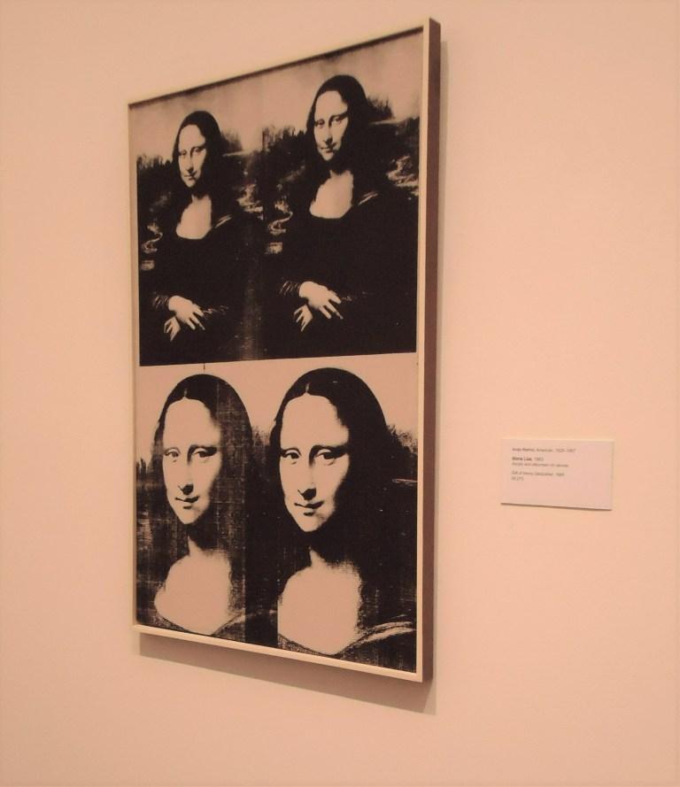 Mona Lisa by Andy Warhol photo