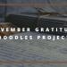 November Gratitude Doodles Project blog cover
