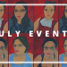 July Events blog cover