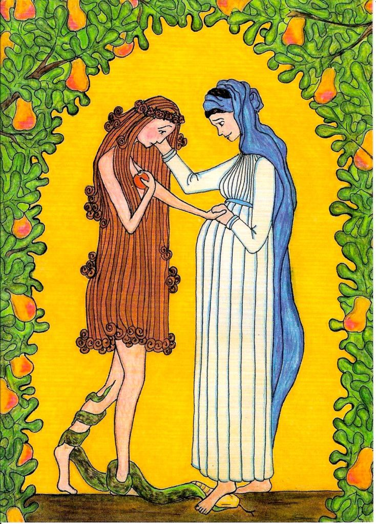 Mary Consoles Eve: Two Voices [Advent]