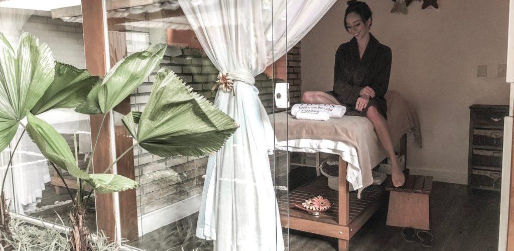 Laura Kassab na Clínica Raizes Spa no Tatuapé Zona Leste