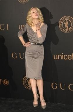 Madonna vestindo Gucci