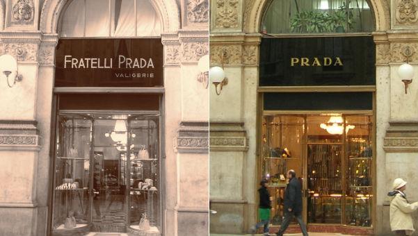 a8269fa2c 65 anos depois (1978), a neta de Mario – Miuccia Prada – assumiu junto com  seu marido Patrizio Bertelli, dando um olhar mais crítico e moderno à marca.