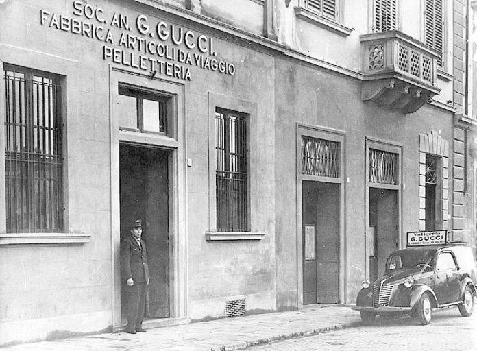 Primeira fábrica da Gucci