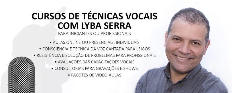 Curso de aulas de canto online com Lyba Serra