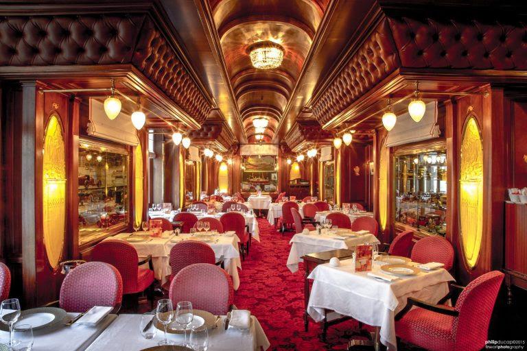 Restaurante Le Train Bleu em Monte-Carlo