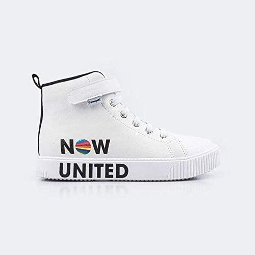 Tênis branco infantil Now United
