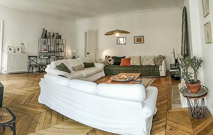 Sala do apartamento SENTIER A la Parisienne em Paris