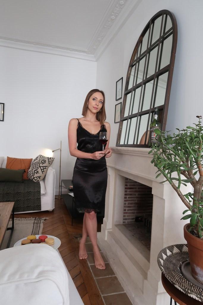 Laura Kassab no apartamento SENTIER A la Parisienne em Paris