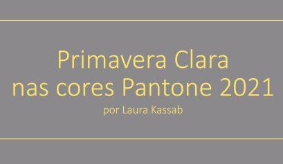 Primavera Clara Light Spring x Pantone 2021