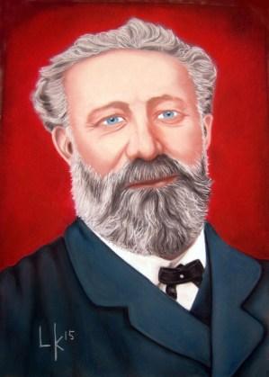 """Jules Verne"" pastel, 70xx50cm"