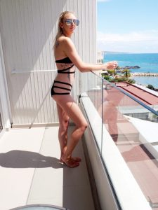 Laura Kate Lucas - Manchester Fashion and Lifestyle Blogger   Outfit Post Holiday Inspo - Black Strappy Bikini