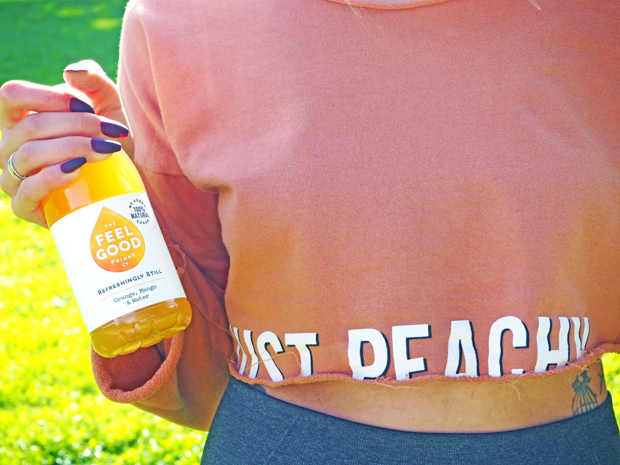 Laura Kate Lucas - Manchester Fashion, Fitness and Food Blogger | #FeelGoodSummer Campaign with Feel Good Drinks - Hydrating with Naturally Healthy Flavoured Water