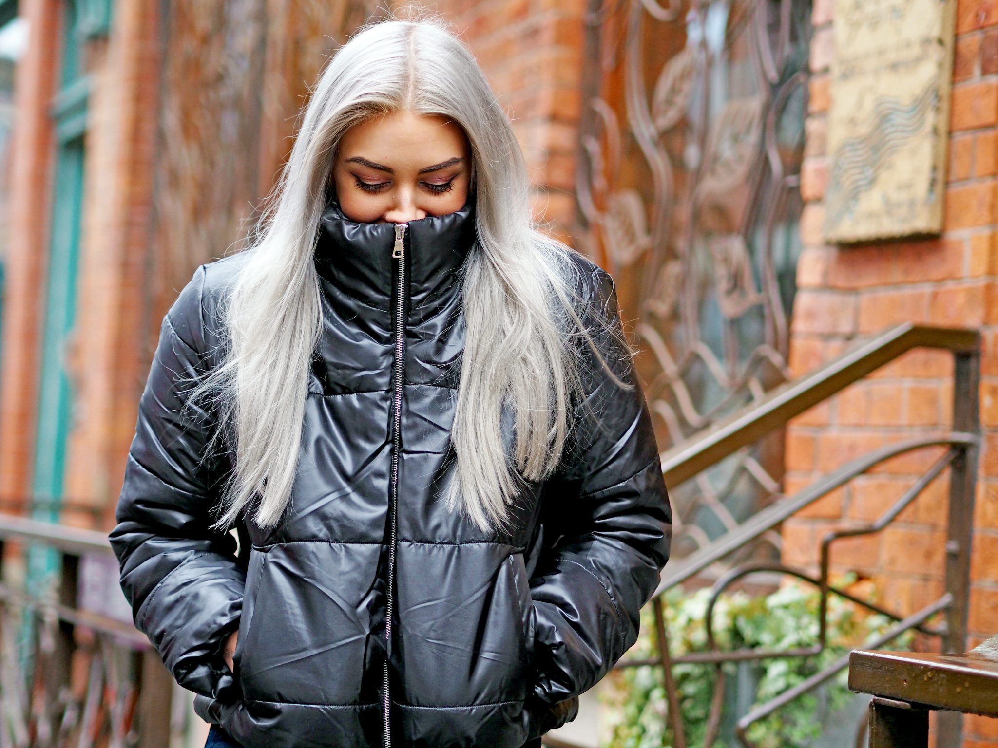 Laura Kate Lucas - Manchester Fashion, Lifestyle and Beauty Blogger   Lasula Outfit - Bad Girls Club Tee, Boots and Cropped Puffer Jacket