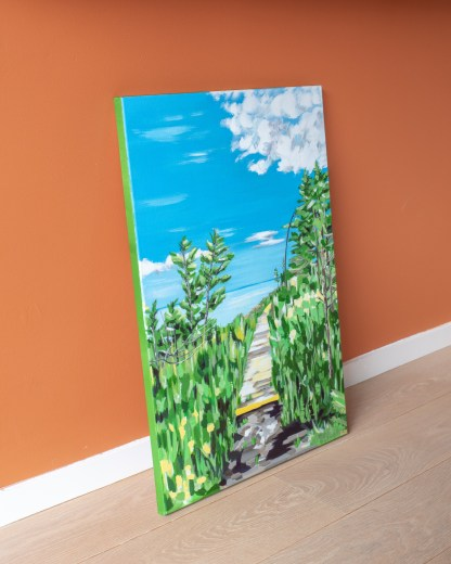 Fundy Bay Trail - 50 x 70 cm - On the ground 2