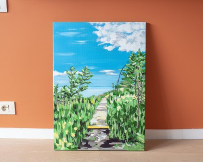 Fundy Bay Trail - 50 x 70 cm - On the ground