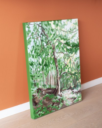Villers Abbey Forest - 50 x 70 cm - On the ground 2