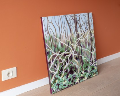 Sculptural Trees - 60 x 60 cm - On the ground 2