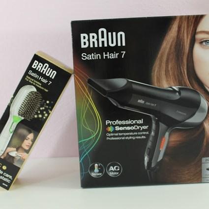 Haarroutine – mit der Satin Hair 7 Serie