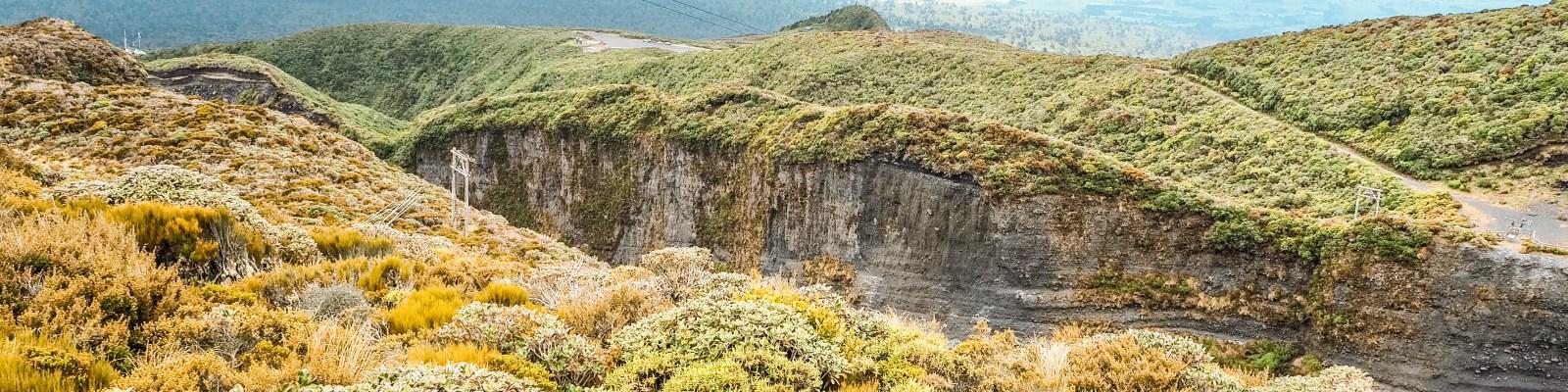 Mount Taranaki und New Plymouth
