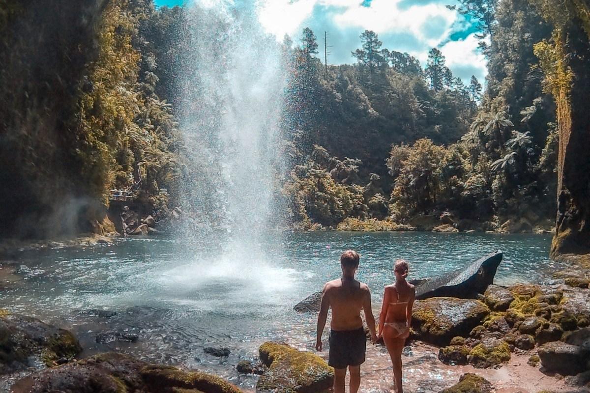 Omanawa Falls – der geschlossene Track