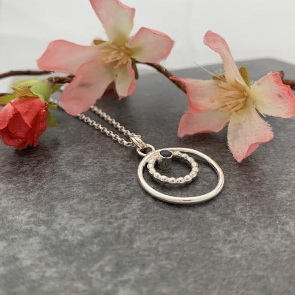sapphire gemstone pendant