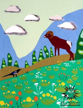 Mountain Animals Wall Art
