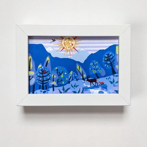 framed nursery wall art