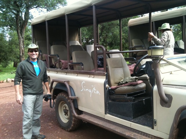 Heading out for the Afternoon Game Drive