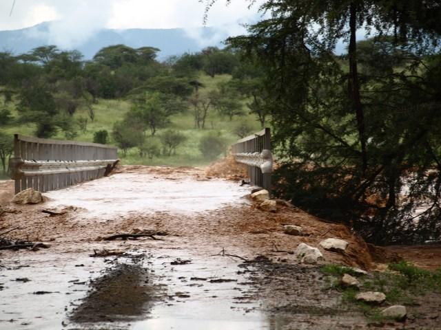 The heaving Uwaso Nyiro River