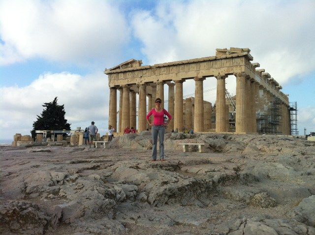 The Parthenon, at the Acropolis, Athens