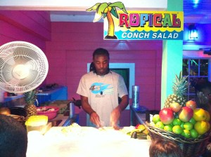 The most delicious conch salad