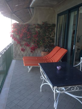 I did not want to leave my balcony. Each room is designed like a favorite guest room in a noble palace. Chic and tasteful with a sense of place. Flowers everywhere!