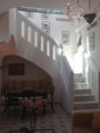 One of the bi level suites at Palazzo Avino.