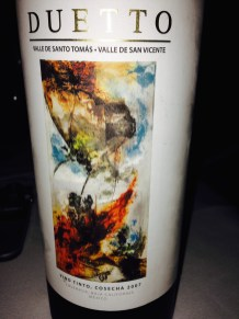 This was an incredible Mexican wine – good thing I did not know the price tag when I ordered it!