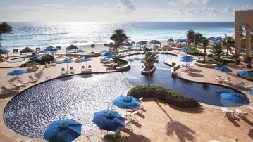 Ritz CarltonCancun Pool