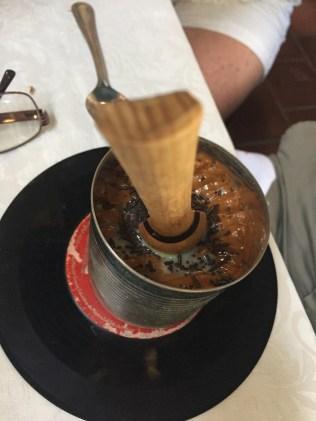 Cuatro Leches for dessert