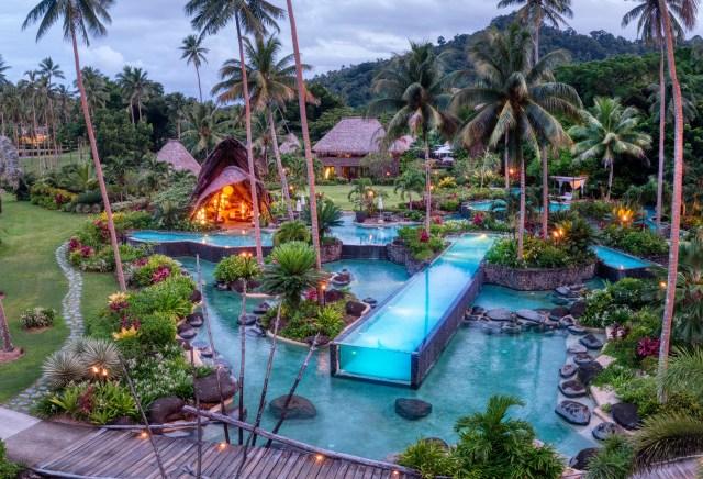 Laucala Island HERO 1_Lap Pool_Pool Bar