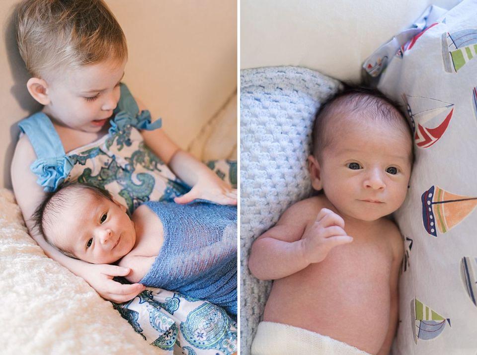 newborn, baby, richmond, laura matthews, blue, boy, lifestyle, in home, glen allen,